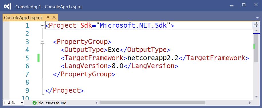 Core 2.2 project file