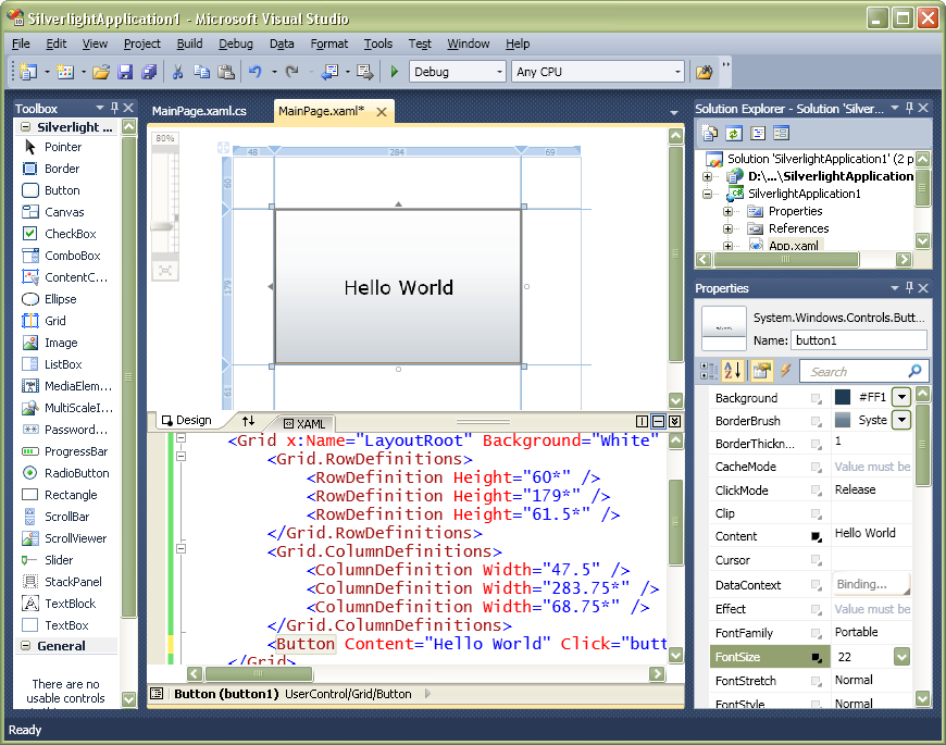 Cider in Visual Studio 2010