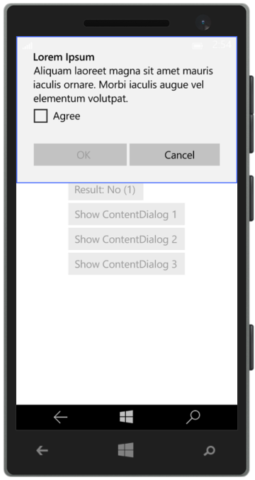 Windows 10 XAML Tips: MessageDialog and ContentDialog - Reflection IT